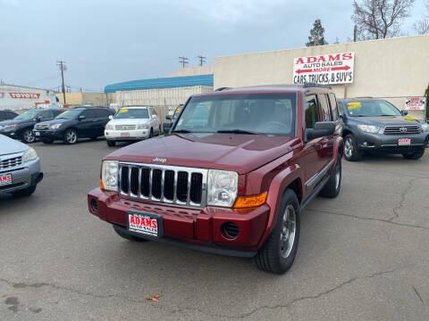2008 Jeep Commander for sale at Adams Auto Sales in Sacramento CA
