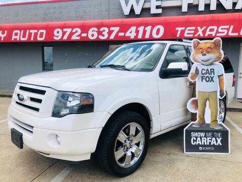 2009 Ford Expedition for sale at Texas Luxury Auto in Cedar Hill TX