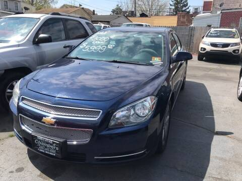 2011 Chevrolet Malibu for sale at Chambers Auto Sales LLC in Trenton NJ
