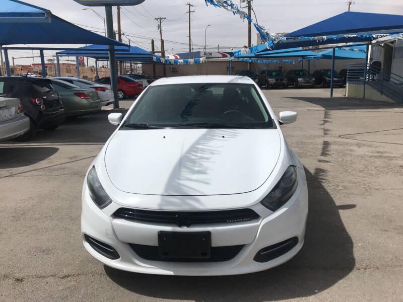 2015 Dodge Dart for sale at Autos Montes in Socorro TX