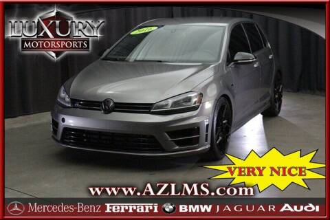 2016 Volkswagen Golf R for sale at Luxury Motorsports in Phoenix AZ