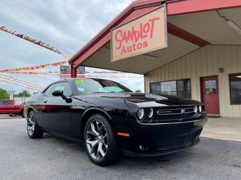 2017 Dodge Challenger for sale at Sandlot Autos in Tyler TX