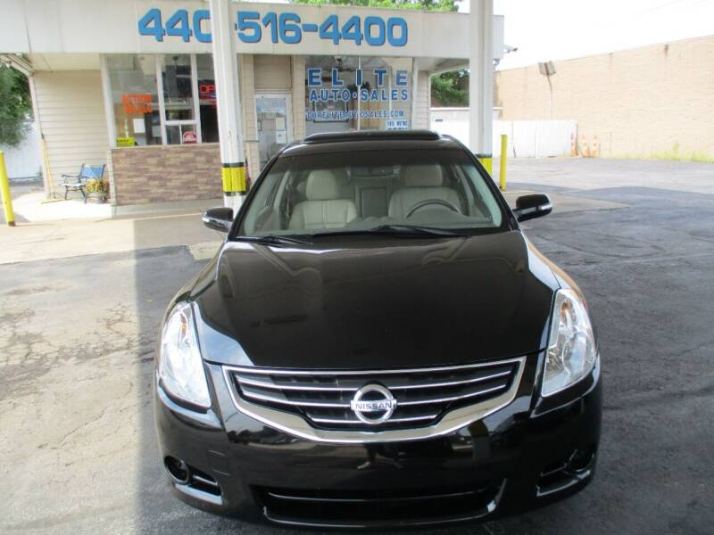 2012 Nissan Altima for sale at Elite Auto Sales in Willowick OH