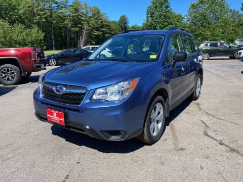2015 Subaru Forester for sale at AutoMile Motors in Saco ME