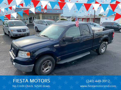2004 Ford F-150 for sale at FIESTA MOTORS in Hagerstown MD