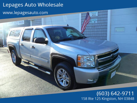 2011 Chevrolet Silverado 1500 for sale at Lepages Auto Wholesale in Kingston NH