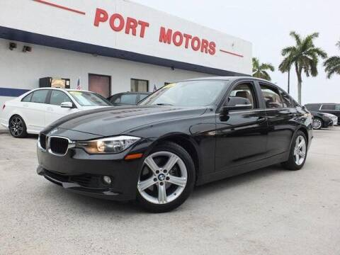2014 BMW 3 Series for sale at Automotive Credit Union Services in West Palm Beach FL