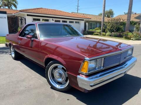 1981 Chevrolet El Camino for sale at SoCal Motors in Los Alamitos CA