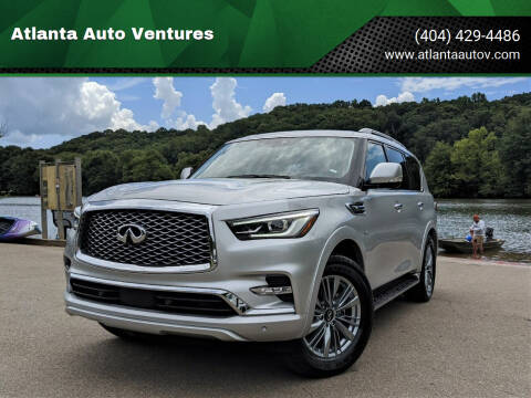 2020 Infiniti QX80 for sale at Atlanta Auto Ventures in Roswell GA