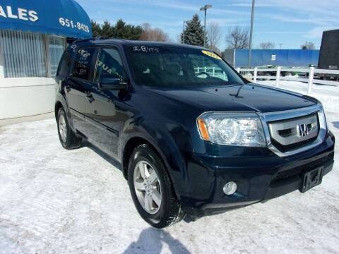 2011 Honda Pilot for sale at Marty Hart's Auto Sales in Sturgis MI