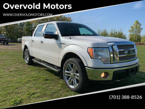 2012 Ford F-150 for sale at Overvold Motors in Detroit Lakes MN
