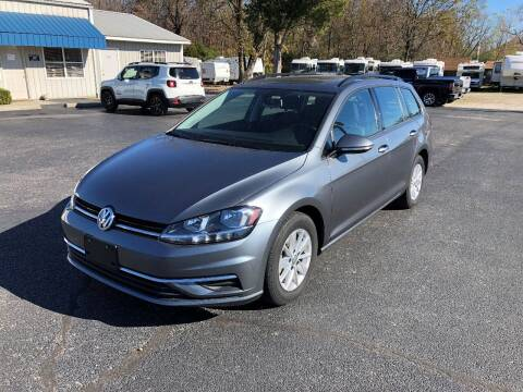 2019 Volkswagen Golf SportWagen for sale at Jones Auto Sales in Poplar Bluff MO