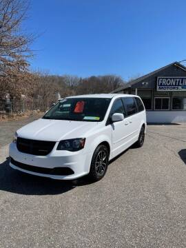 2015 Dodge Grand Caravan for sale at Frontline Motors Inc in Chicopee MA