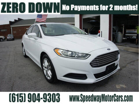 2016 Ford Fusion for sale at Speedway Motors in Murfreesboro TN