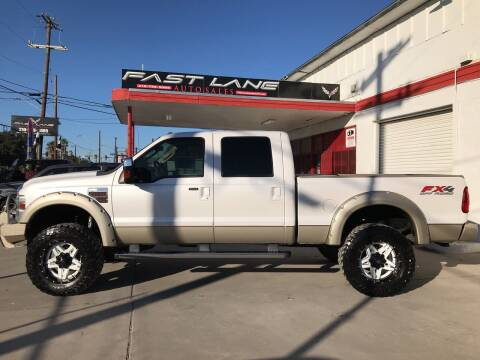 2010 Ford F-250 Super Duty for sale at FAST LANE AUTO SALES in San Antonio TX
