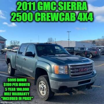 2011 GMC Sierra 2500HD for sale at D&D Auto Sales, LLC in Rowley MA