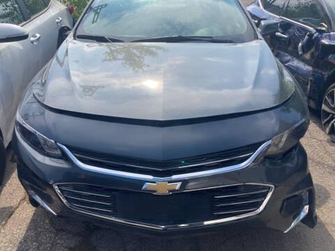 2018 Chevrolet Malibu for sale at ALL TEAM AUTO in Las Vegas NV