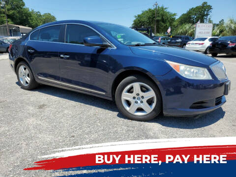 2011 Buick LaCrosse for sale at Rodgers Enterprises in North Charleston SC