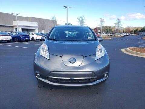 2015 Nissan LEAF for sale at Lou Sobh Kia in Cumming GA