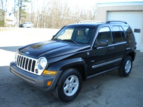 2006 Jeep Liberty for sale at Route 111 Auto Sales in Hampstead NH