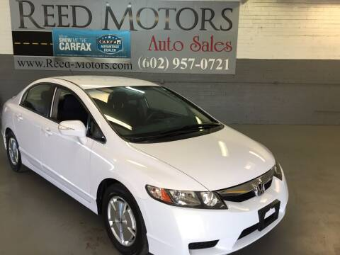 2009 Honda Civic for sale at REED MOTORS LLC in Phoenix AZ