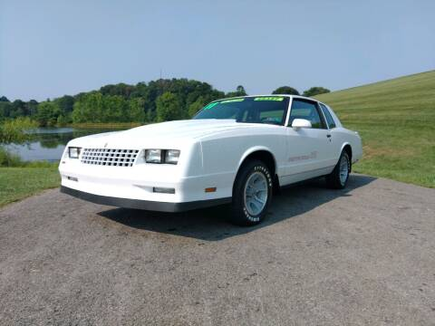 1987 Chevrolet Monte Carlo for sale at JJ's Automotive in Mount Pleasant PA