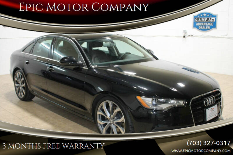 2015 Audi A6 for sale at Epic Motor Company in Chantilly VA