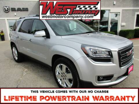 2017 GMC Acadia Limited for sale at West Motor Company in Preston ID