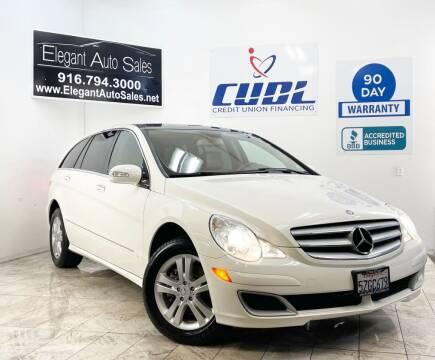 2007 Mercedes-Benz R-Class for sale at Elegant Auto Sales in Rancho Cordova CA