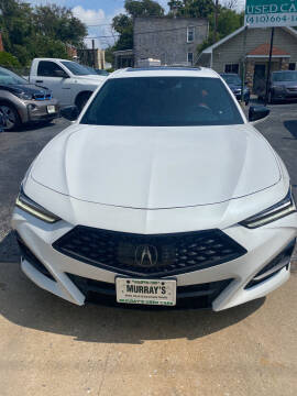 2021 Acura TLX for sale at Murrays Used Cars Inc in Baltimore MD