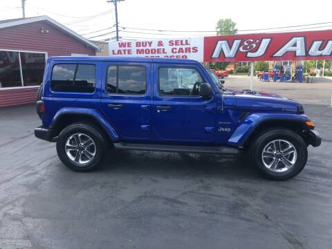 2020 Jeep Wrangler Unlimited for sale at N & J Auto Sales in Warsaw IN