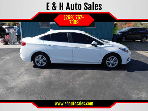 2018 Chevrolet Cruze for sale at E & H Auto Sales in South Haven MI