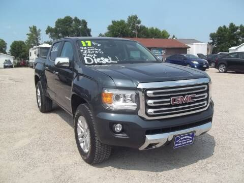 2017 GMC Canyon for sale at BRETT SPAULDING SALES in Onawa IA
