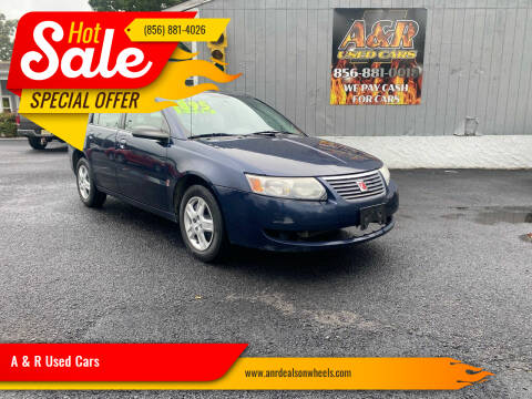 2007 Saturn Ion for sale at A & R Used Cars in Clayton NJ
