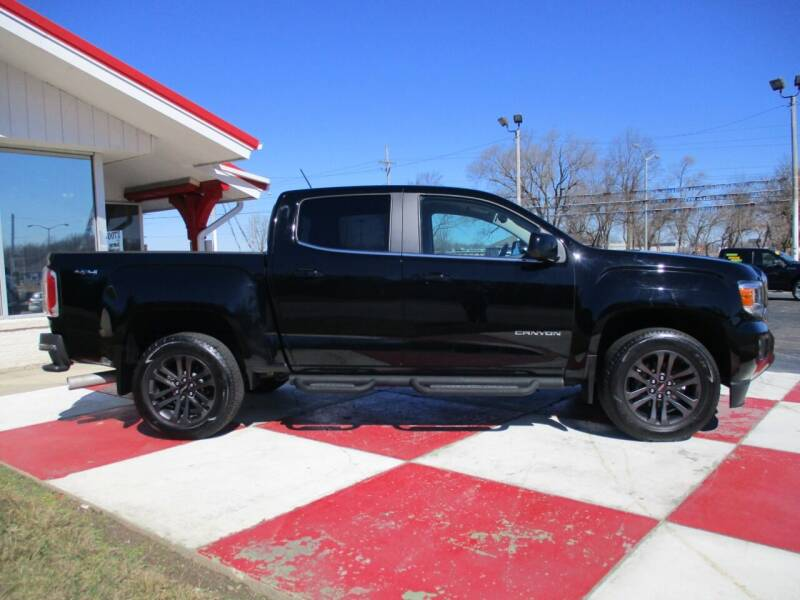 2018 GMC Canyon for sale at TEAM ANDERSON AUTO GROUP INC in Richmond IN