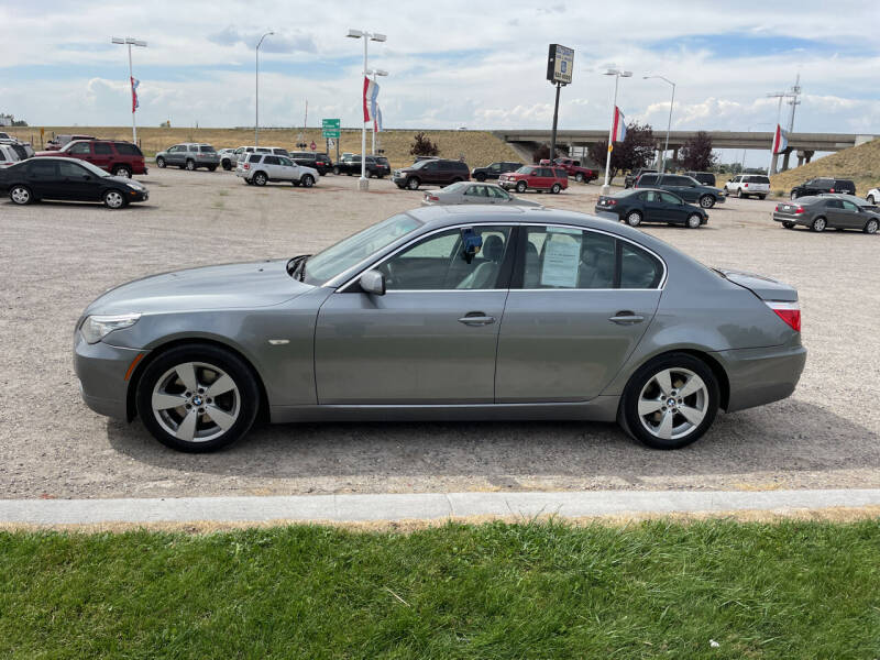 2008 BMW 5 Series for sale at GILES & JOHNSON AUTOMART in Idaho Falls ID