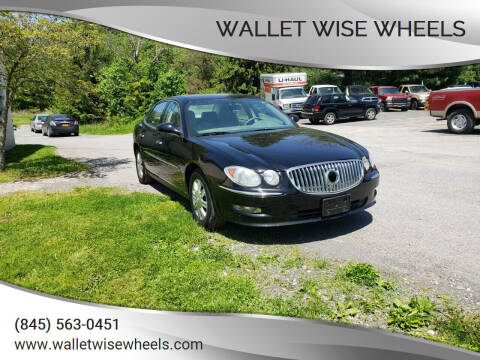 2008 Buick LaCrosse for sale at Wallet Wise Wheels in Montgomery NY
