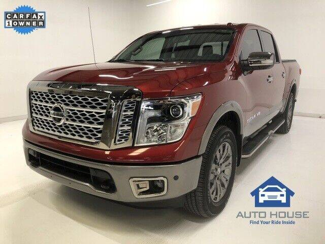 2019 Nissan Titan for sale at Autos by Jeff in Peoria AZ