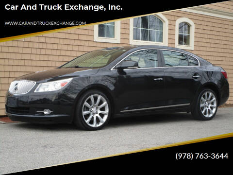 2010 Buick LaCrosse for sale at Car and Truck Exchange, Inc. in Rowley MA