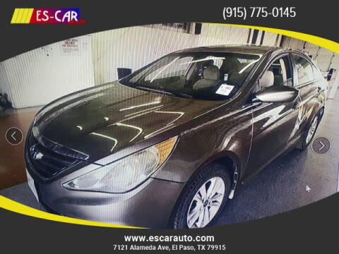 2014 Hyundai Sonata for sale at Escar Auto in El Paso TX