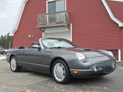 2003 Ford Thunderbird for sale at Red Barn Motors, Inc. in Ludlow MA