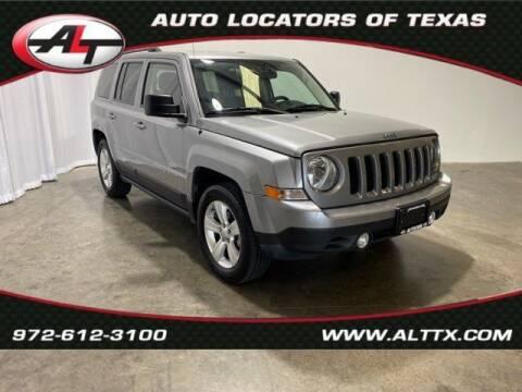 2015 Jeep Patriot for sale at AUTO LOCATORS OF TEXAS in Plano TX