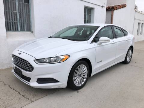 2018 Ford Fusion Hybrid for sale at Korski Auto Group in National City CA