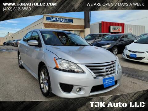 2014 Nissan Sentra for sale at TJK Auto LLC in Omaha NE