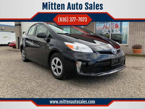 2015 Toyota Prius for sale at Mitten Auto Sales in Holland MI