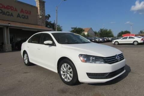 2013 Volkswagen Passat for sale at Import Motors in Bethany OK