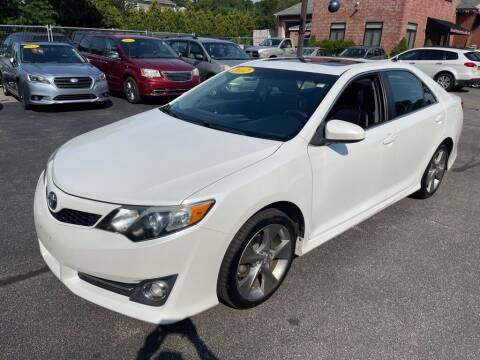 2012 Toyota Camry for sale at KINGSTON AUTO SALES in Wakefield RI