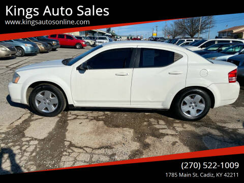2010 Dodge Avenger for sale at Kings Auto Sales in Cadiz KY