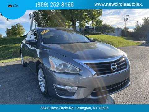 2014 Nissan Altima for sale at New Circle Auto Sales LLC in Lexington KY