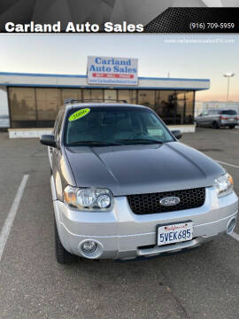 2006 Ford Escape Hybrid for sale at Carland Auto Sales in Sacramento CA